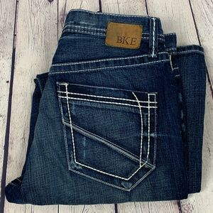 BKE Denim Jeans Tyler Size 32 Dark Wash